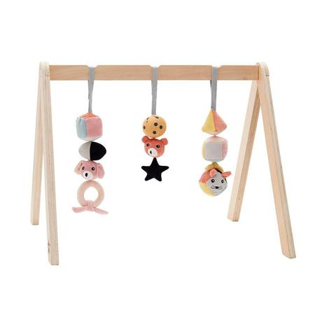 Kids Concept® Igračke za lesen igralni center Aiden kocke