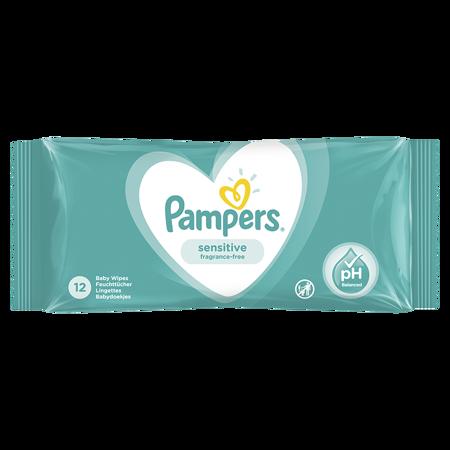 Slika za Pampers® Otroški čistilni robčki Sensitive 12 kosov