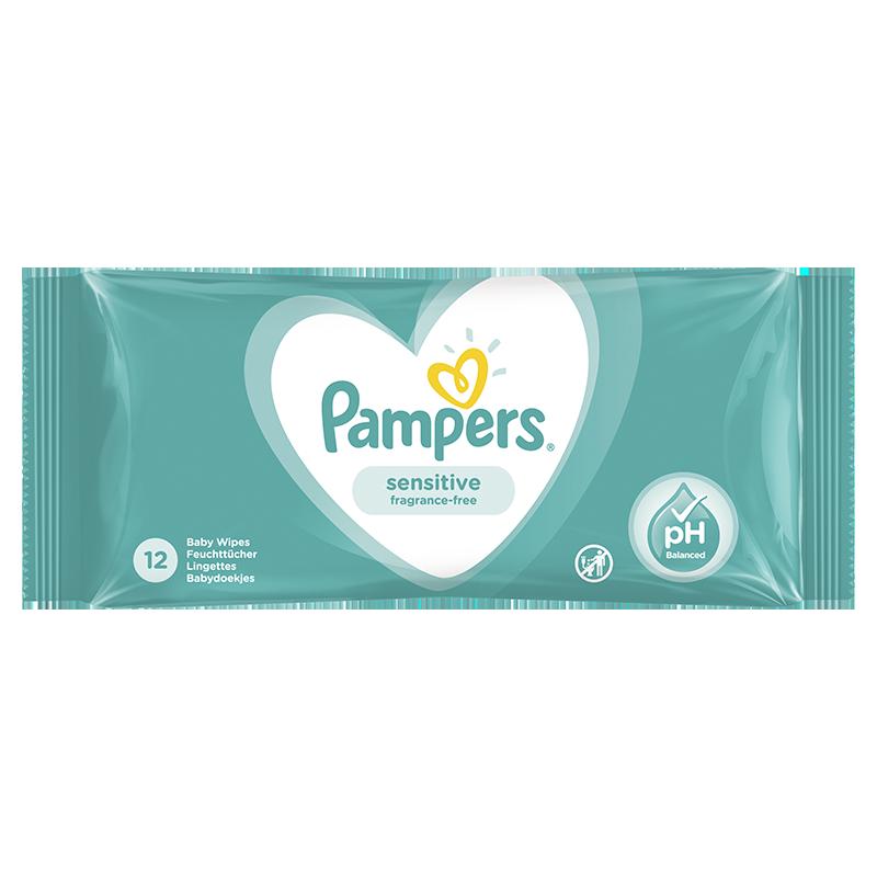 Slika za Pampers® Dječje vlažne maramice Sensitive 12 komada