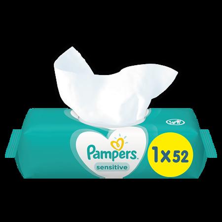 Slika za Pampers® Dječje vlažne maramice Sensitive 52 komada
