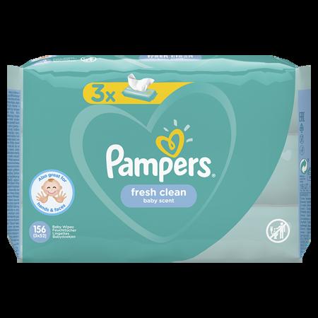 Slika za Pampers® Otroški čistilni robčki Fresh Clean 3x52 kosov