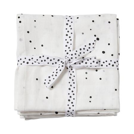 Slika za Done by Deer® Komplet 2 pelene za previjanje Dreamy Dots White 120x120