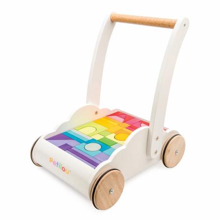 Slika za Le Toy Van® Lesen voziček s kockami