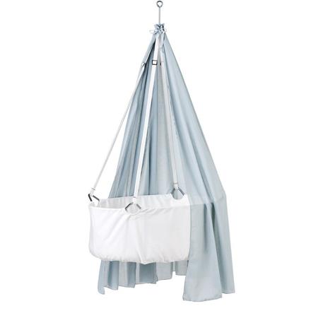 Leander® Zastor za visečo zibelko - Svetlo Modra