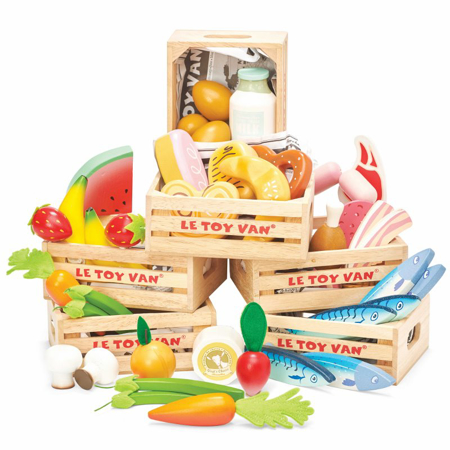 Slika za Le Toy Van® Lesena živila za tržnico