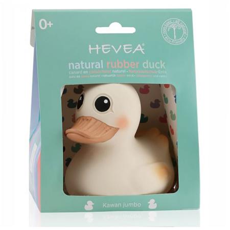 Hevea® Kawan račka iz naravnega kavčuka - 1 igrača 3 funkcije L