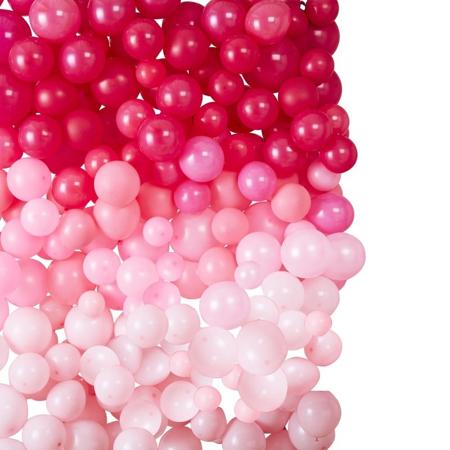 Ginger Ray® Zid iz balona Ombre Pink