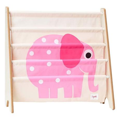 Slika za 3Sprouts® Knjižno stojalo Slon Pink