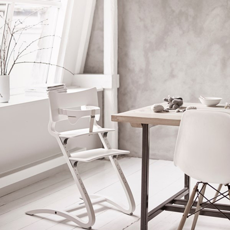 Slika za Leander® Otroški stol za hranjenje White