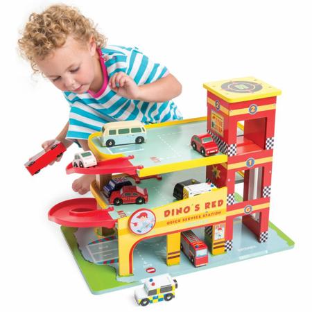 Slika za Le Toy Van® Garažna hiša Dino