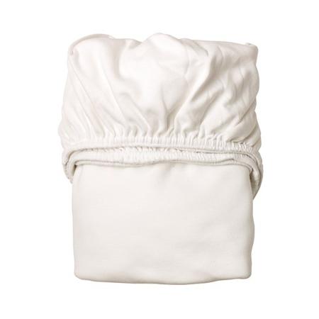Leander® Otroška jogi rjuha za zibelko 2 kosa 79x49 White/White
