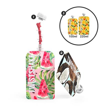 Slika za Twistshake® SQUEEZE vrećice 3x 100ml  Marble