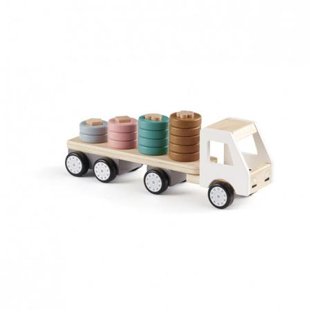Slika za Kids Concept® Lesen tovornjak s prikolico Aiden