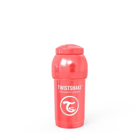 Slika za Twistshake® Bočica Anti-Colic 180ml (0+m) Pearl Red