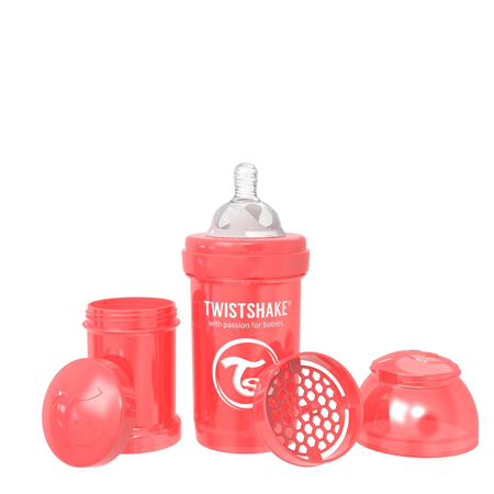 Slika za Twistshake® Steklenička Anti-Colic 180ml (0+m) Pearl Red