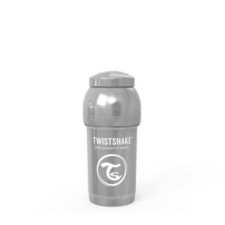 Slika za Twistshake® Steklenička Anti-Colic 180ml (0+m) Pearl Grey