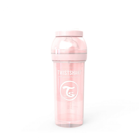 Slika za Twistshake® Steklenička Anti-Colic 260ml (2+m) Pearl Pink