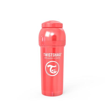 Slika za Twistshake® Steklenička Anti-Colic 260ml (2+m) Pearl Red