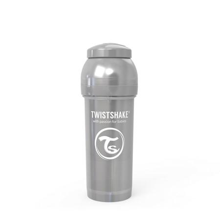 Slika za Twistshake® Steklenička Anti-Colic 260ml (2+m) Pearl Grey