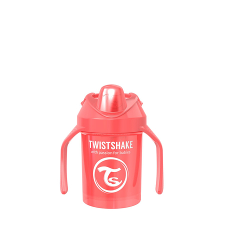 Slika za Twistshake® Lonček Mini Cup 230ml (4+m) Pearl Red