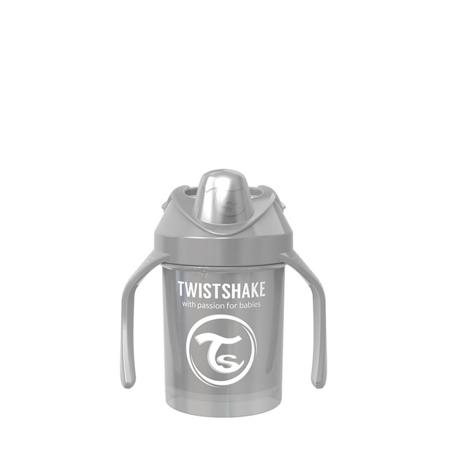 Slika za Twistshake® Lonček Mini Cup 230ml (4+m) Pearl Grey