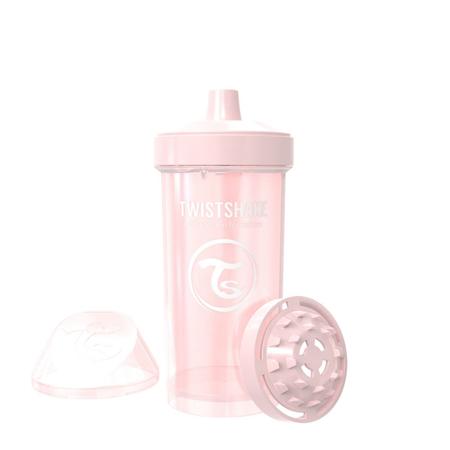 Slika za Twistshake® Lonček Kid Cup 360ml (12+m) Pearl Pink