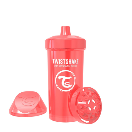 Slika za Twistshake® Lonček Kid Cup 360ml (12+m) Pearl Red
