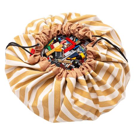 Slika za Play&Go® Vreča i podloga Stripes Mustard