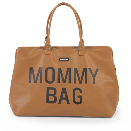 Slika za Childhome® Previjalna torba Mommy Bag  Leatherlook Brown
