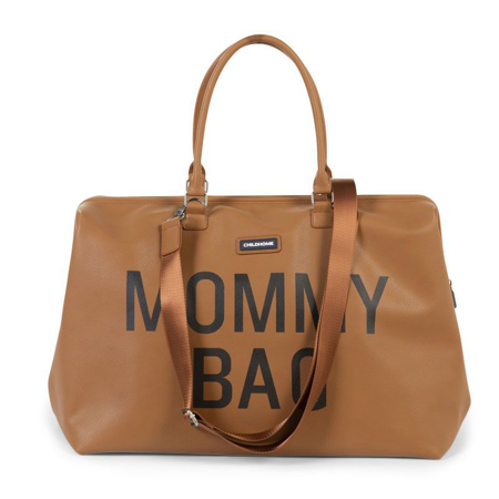 Childhome® Torba za previjanje Mommy Bag Leatherlook Brown