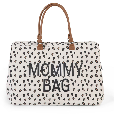 Slika za Childhome® Previjalna torba Mommy Bag Big Canvas Leopard