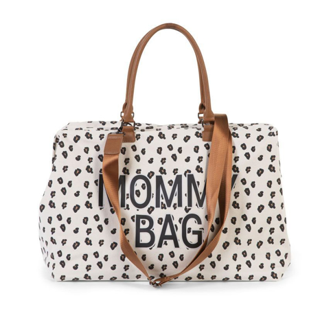Childhome® Torba za previjanje Mommy Bag Big Canvas Leopard