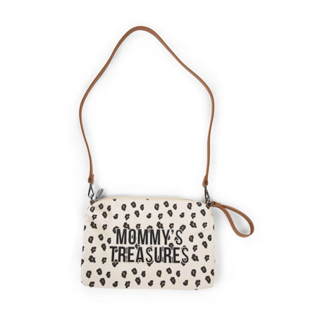 Childhome® Torbica Mommys Treasures Canvas Leopard