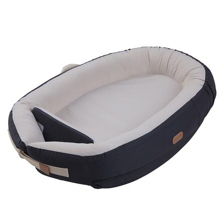 Voksi® Gnezdece za dojenčka Premium Dark Grey