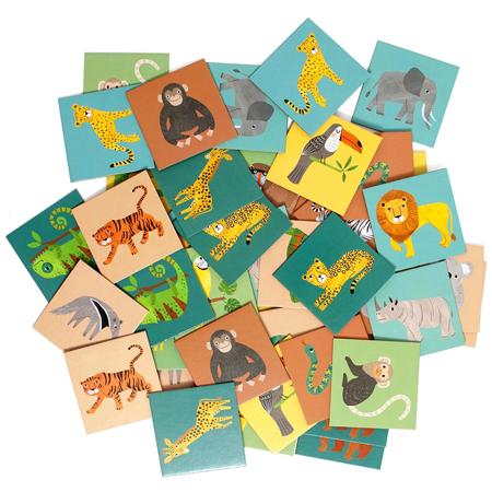 Petit Monkey® Igra memorije Jungle Animals