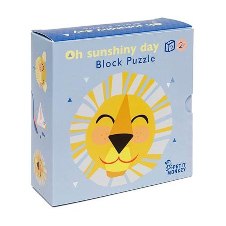 Slika za Petit Monkey® Kartonske kocke Oh Shiny Day