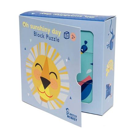 Petit Monkey® Kartonske kocke Oh Shiny Day