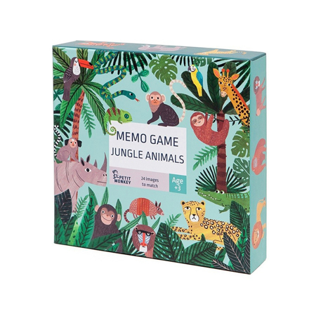 Slika za Petit Monkey® Igra memorije Jungle Animals