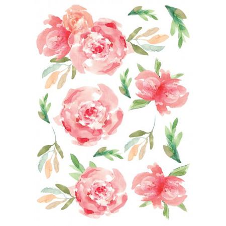 Slika za Pick Art Design® Stenske nalepke Rože manjše