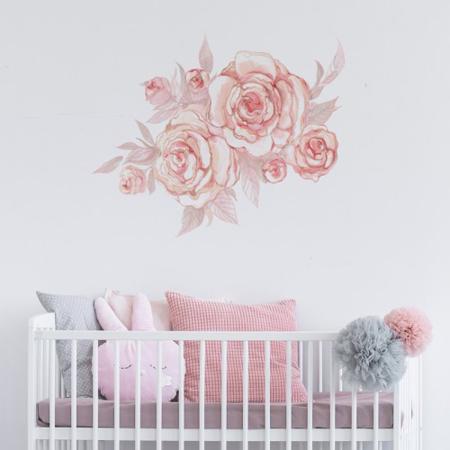 Slika za Pick Art Design® Stenska nalepka Roža
