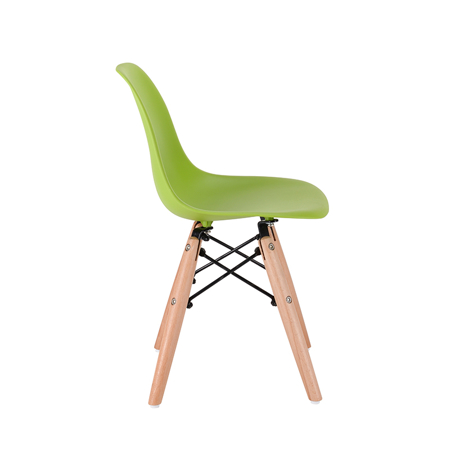 EM Furniture Eiffel Dječja stolica Green