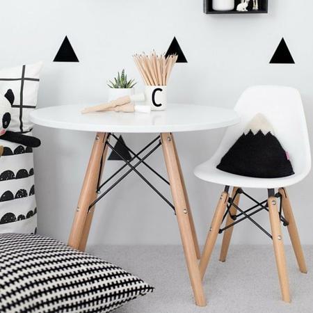 Slika za EM Furniture Eiffel Dječja stolica White