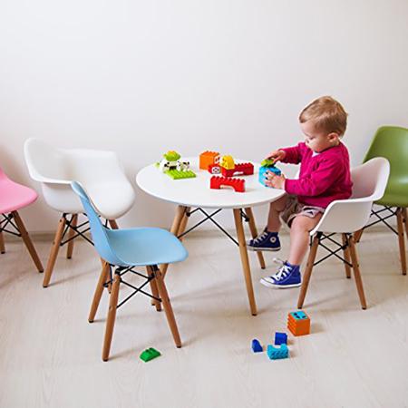 Slika za EM Furniture Eiffel Dječja stolica Arm Black