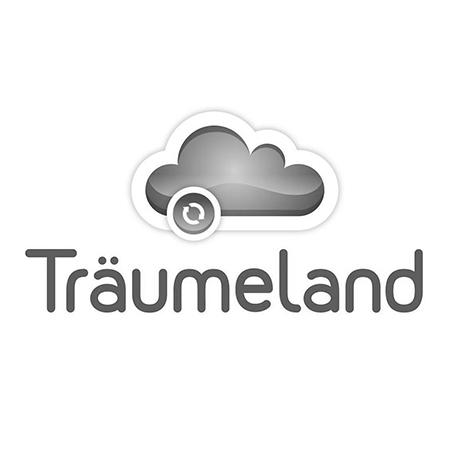 Slika za Träumeland® Otroško ležišče Rainbow 120x60