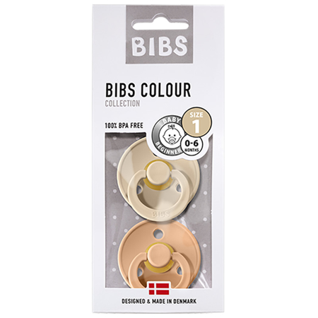 Bibs® Duda Vanilla & Peach (0-6m)