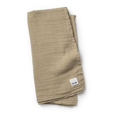 Slika za Elodie Details® Mehka muslin odejica Warm Sand 80x80