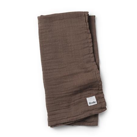 Slika za Elodie Details® Mekana muslin dekica Chocolate 80x80