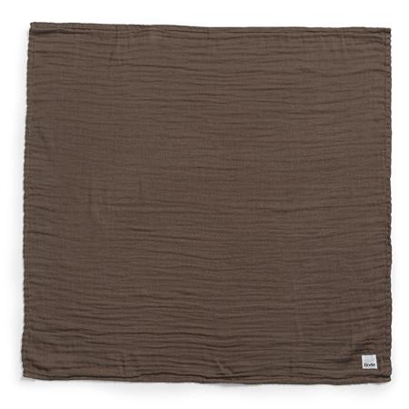Elodie Details® Mekana muslin dekica Chocolate 80x80