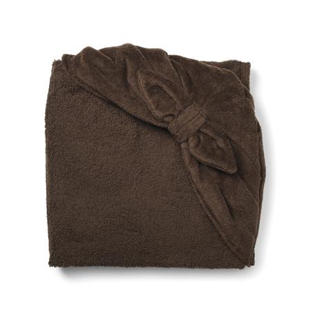 Elodie Details® Ručnik s kapuljačom Chocolate Bow 80x80