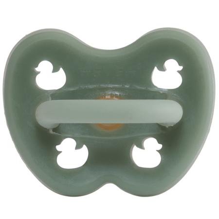 Slika za Hevea® Ortodontska duda iz kavčuka Moss Green RAČKA